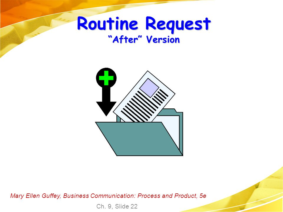 Routine Request After Version