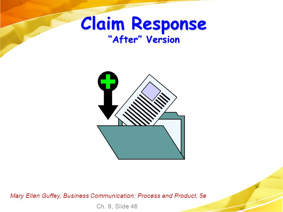 Claim Response After Version