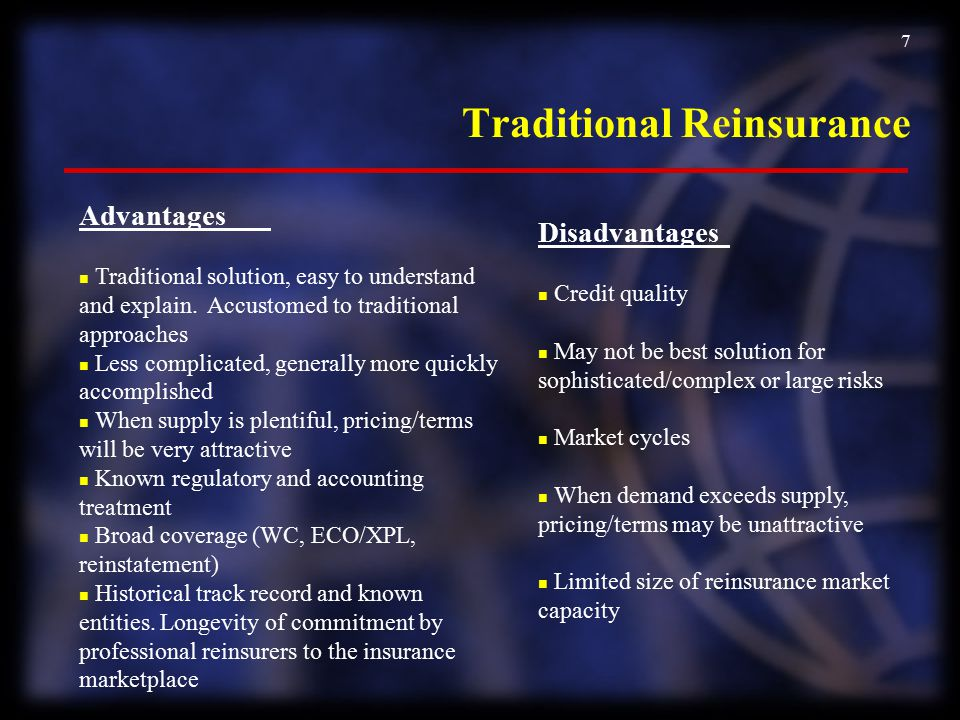 Traditional Reinsurance
