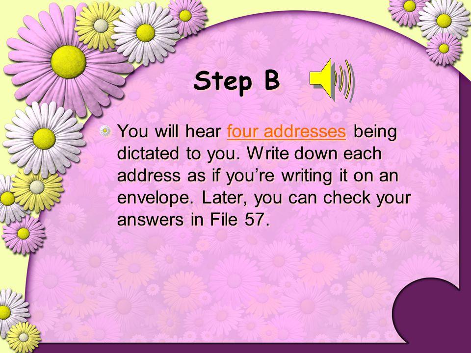 Step B