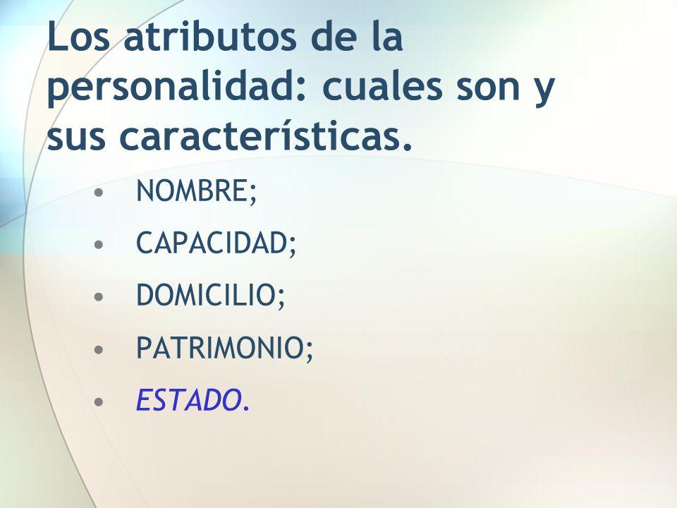 Los atributos de la personalidad: cuales son y sus características.