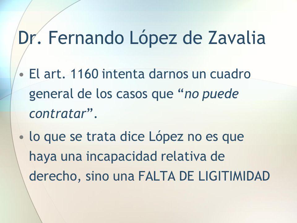 Dr. Fernando López de Zavalia