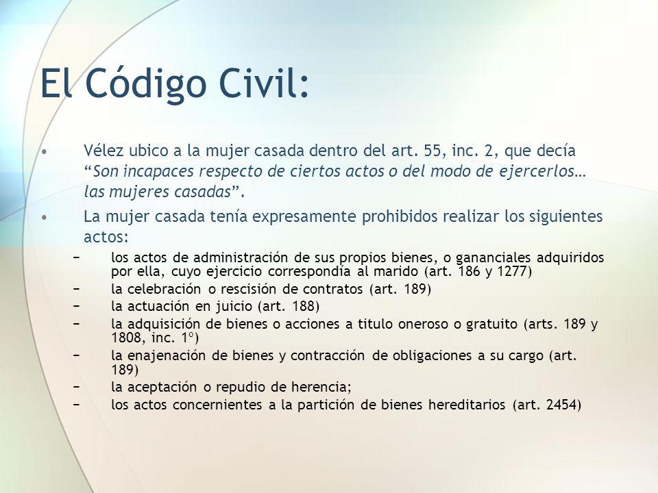 El Código Civil: