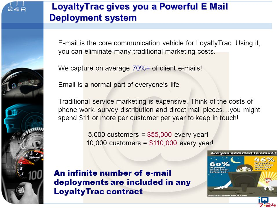 LoyaltyTrac gives you a Powerful E Mail Deployment system