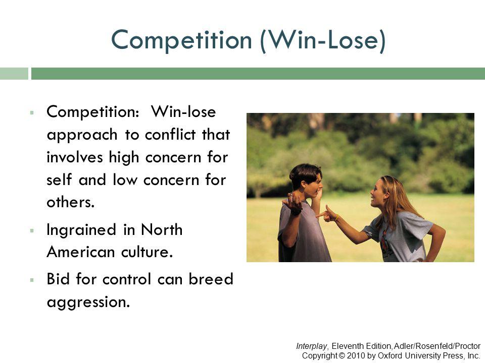 Competition (Win-Lose)
