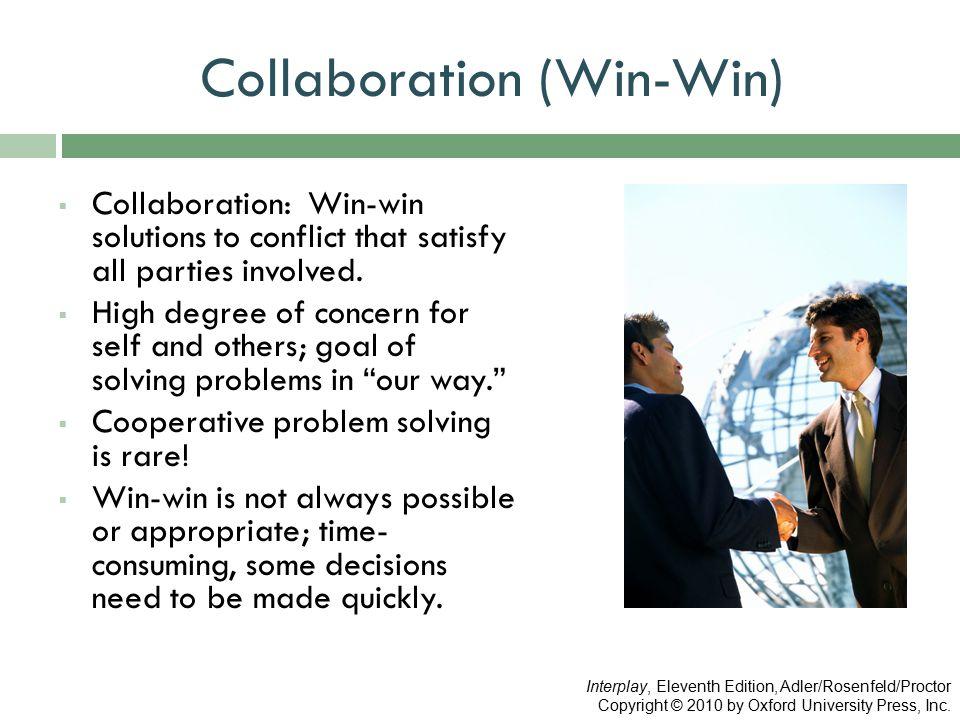 Collaboration (Win-Win)