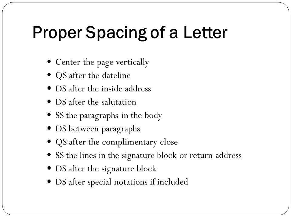 How to Space, Format & Write a Friendly Letter