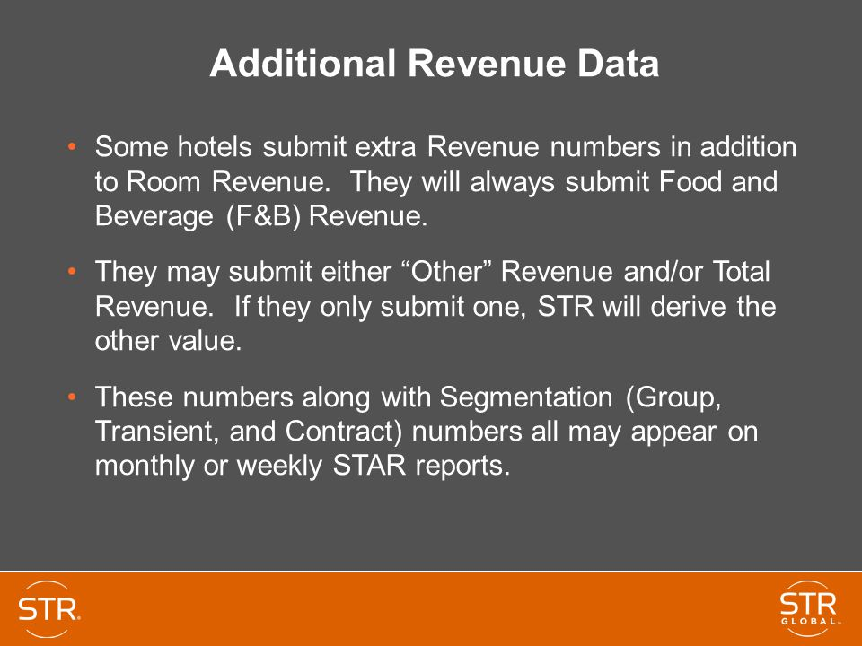 Additional Revenue Data