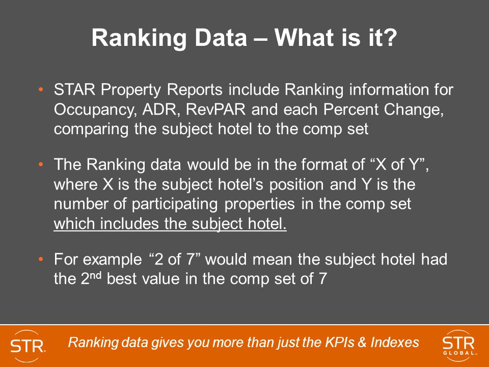 Ranking Data – What is it