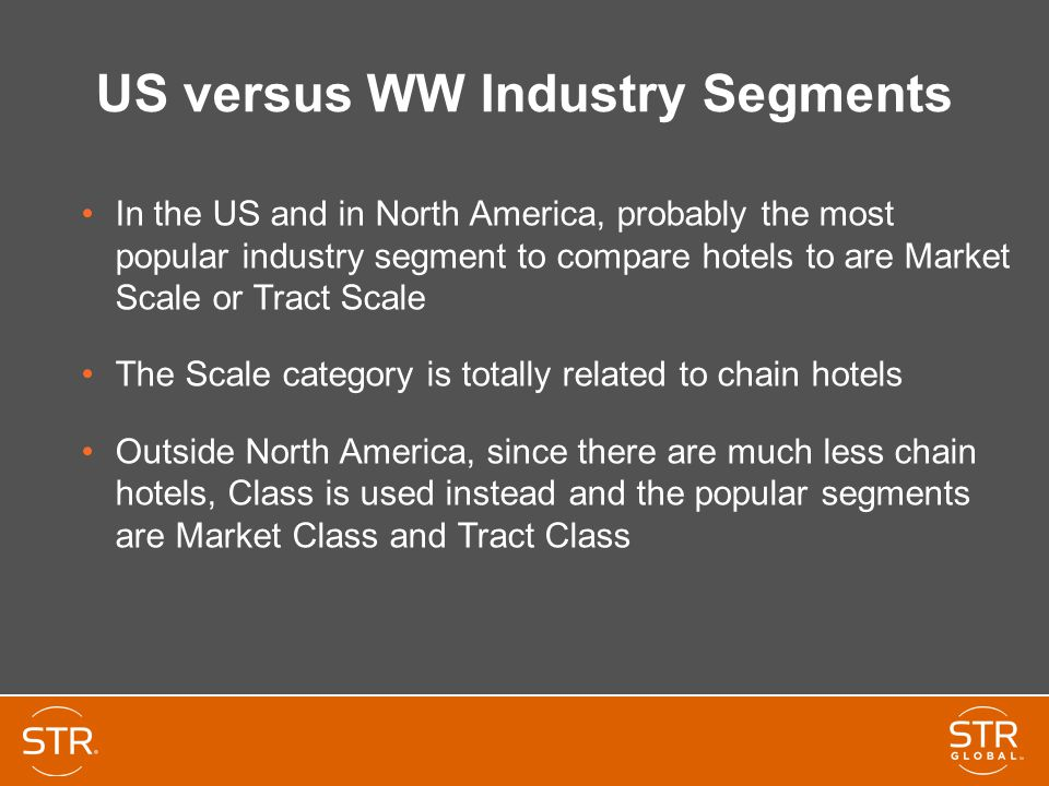 US versus WW Industry Segments
