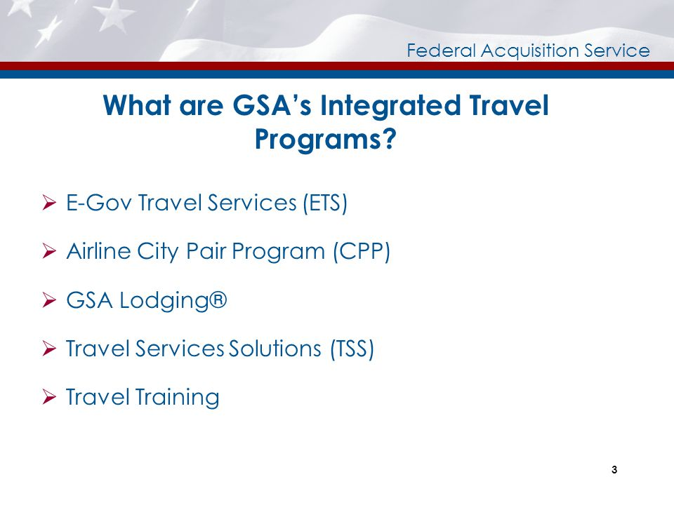 What are GSA's Integrated Travel Programs