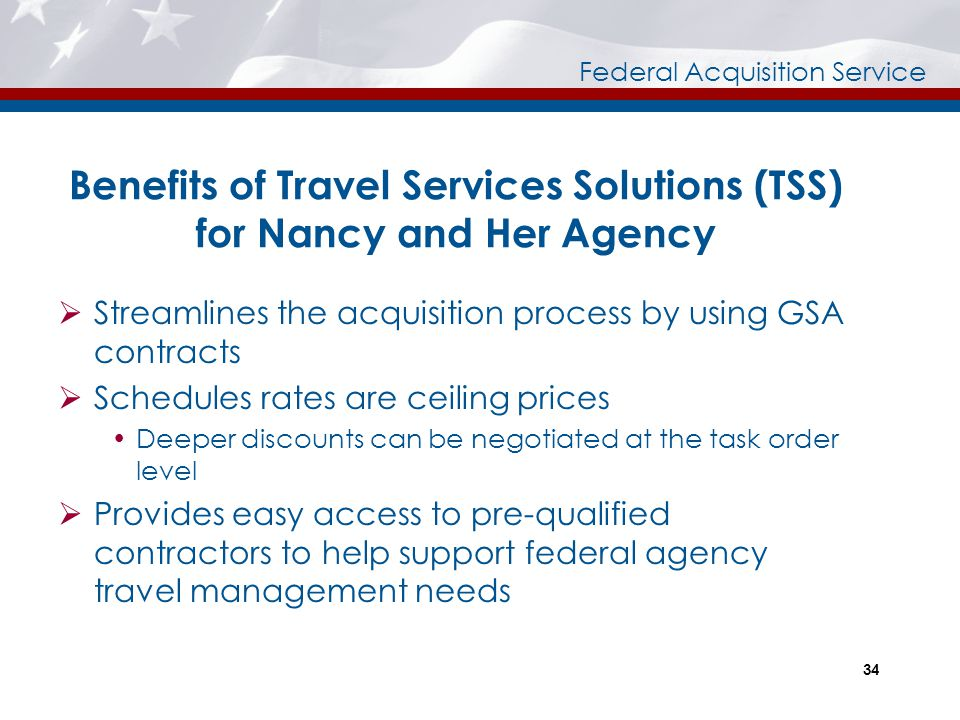 Benefits of Travel Services Solutions (TSS) for Nancy and Her Agency