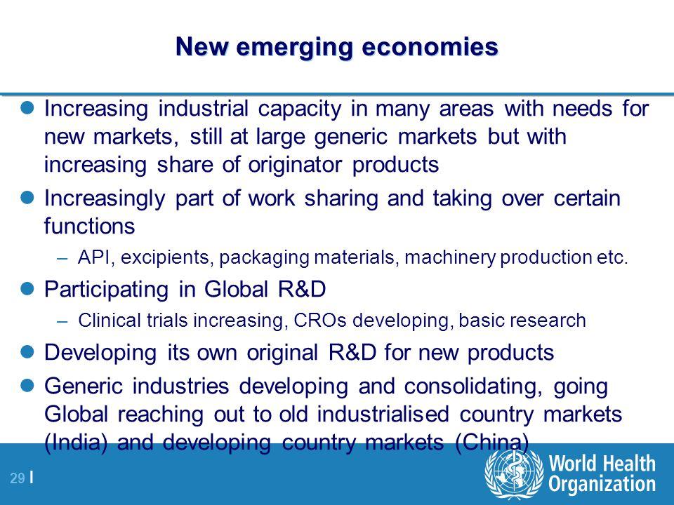 New emerging economies