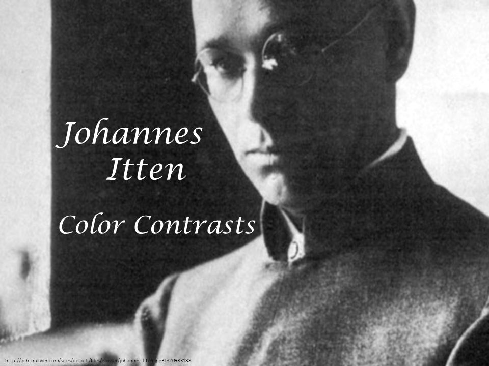 Johannes Itten Color Contrasts