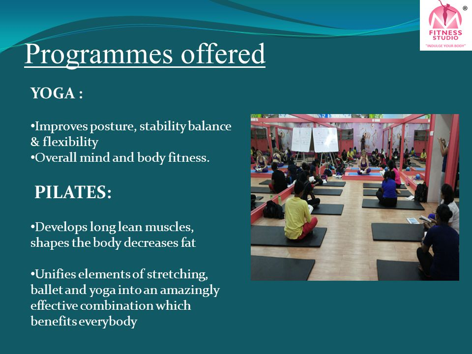 Programmes offered YOGA :