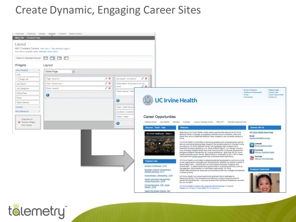 Create Dynamic, Engaging Career Sites