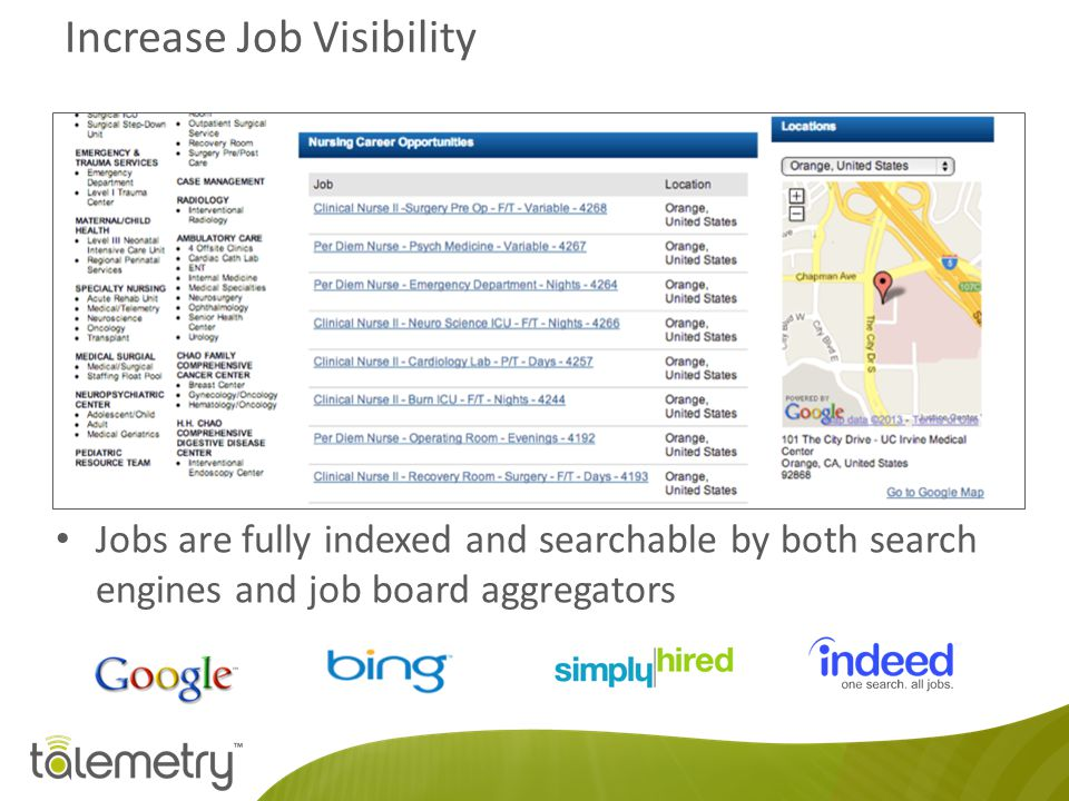 Increase Job Visibility