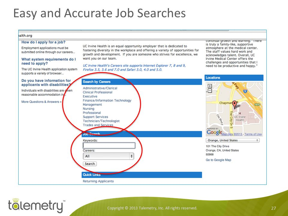 Easy and Accurate Job Searches