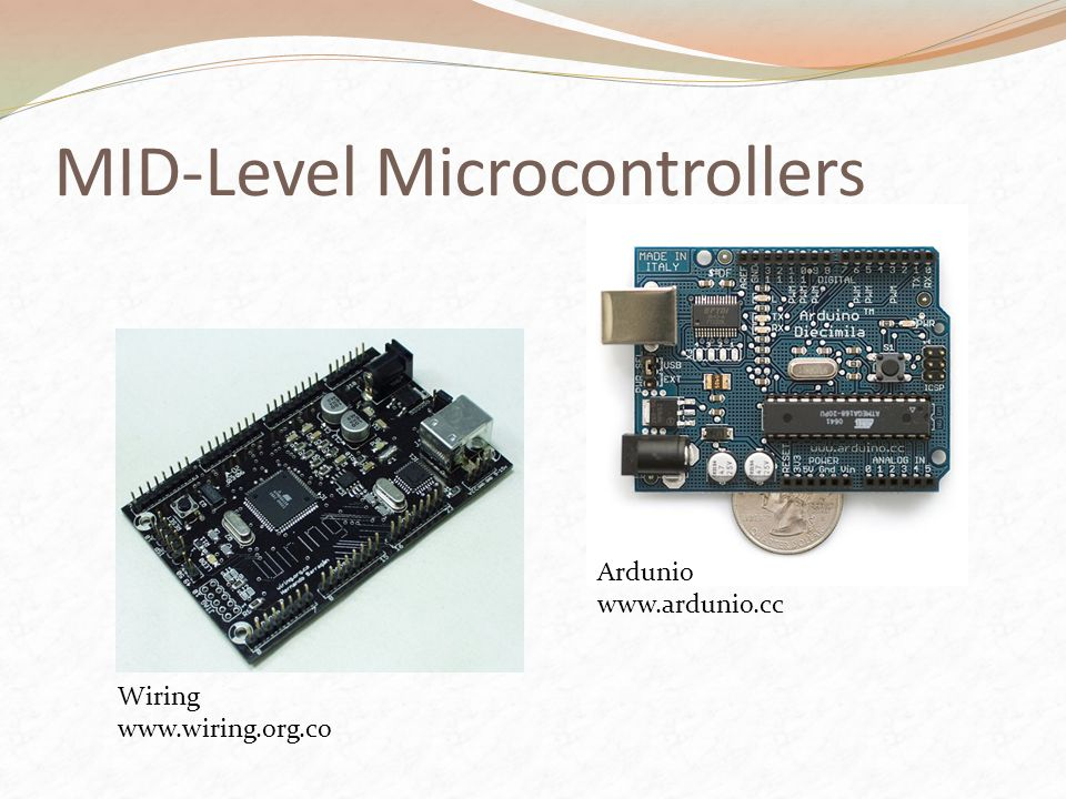 MID-Level Microcontrollers