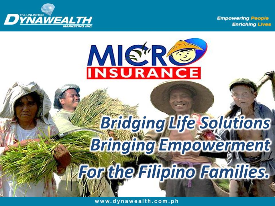 For the Filipino Families.