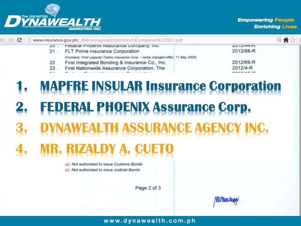 MAPFRE INSULAR Insurance Corporation