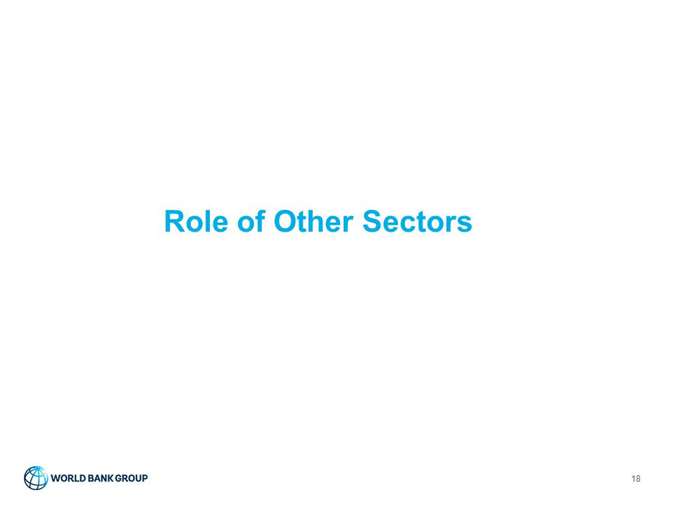 Role of Other Sectors
