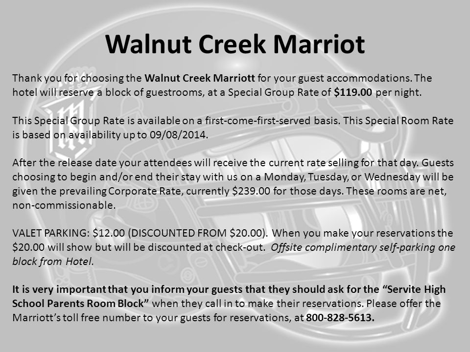 Walnut Creek Marriot