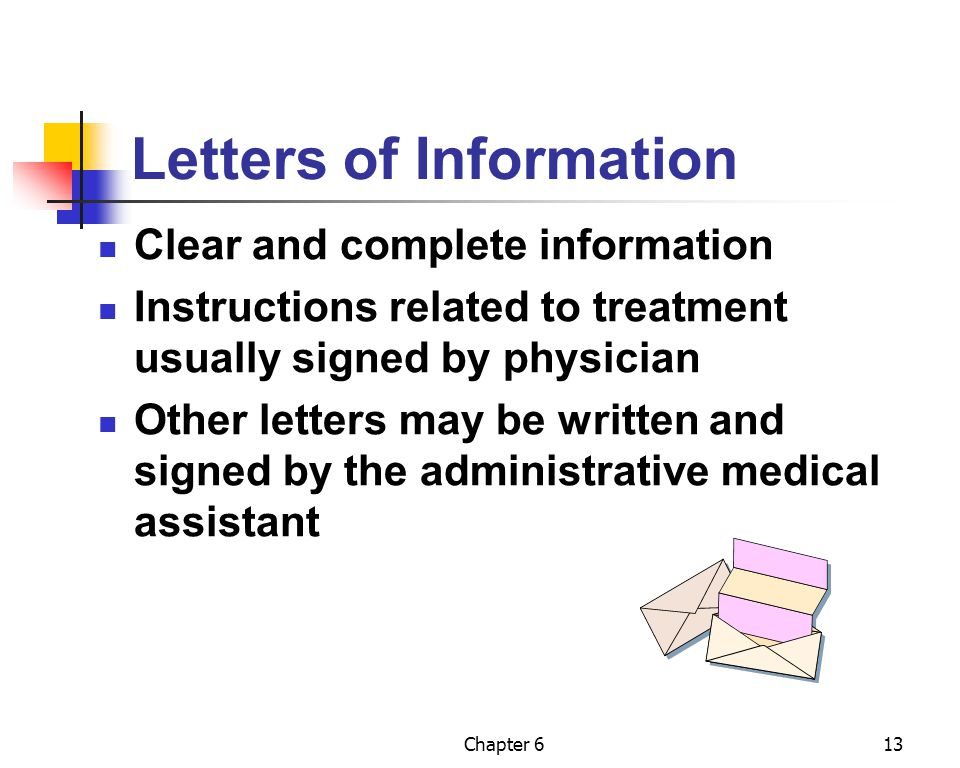 Letters of Information