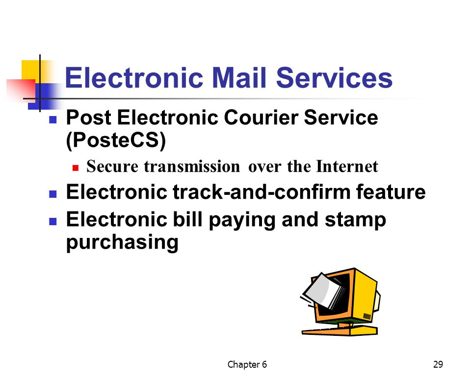 Electronic Mail Services
