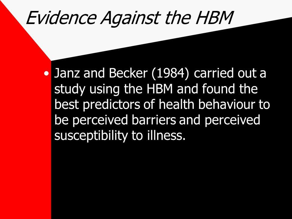 Evidence Against the HBM