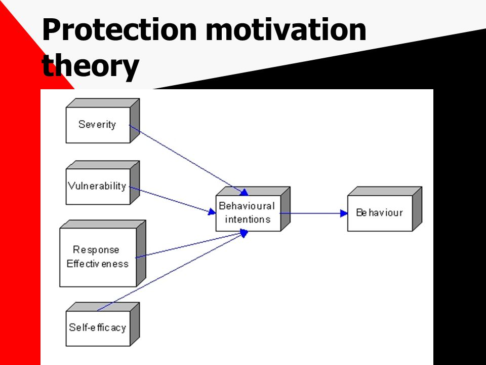 Protection motivation theory