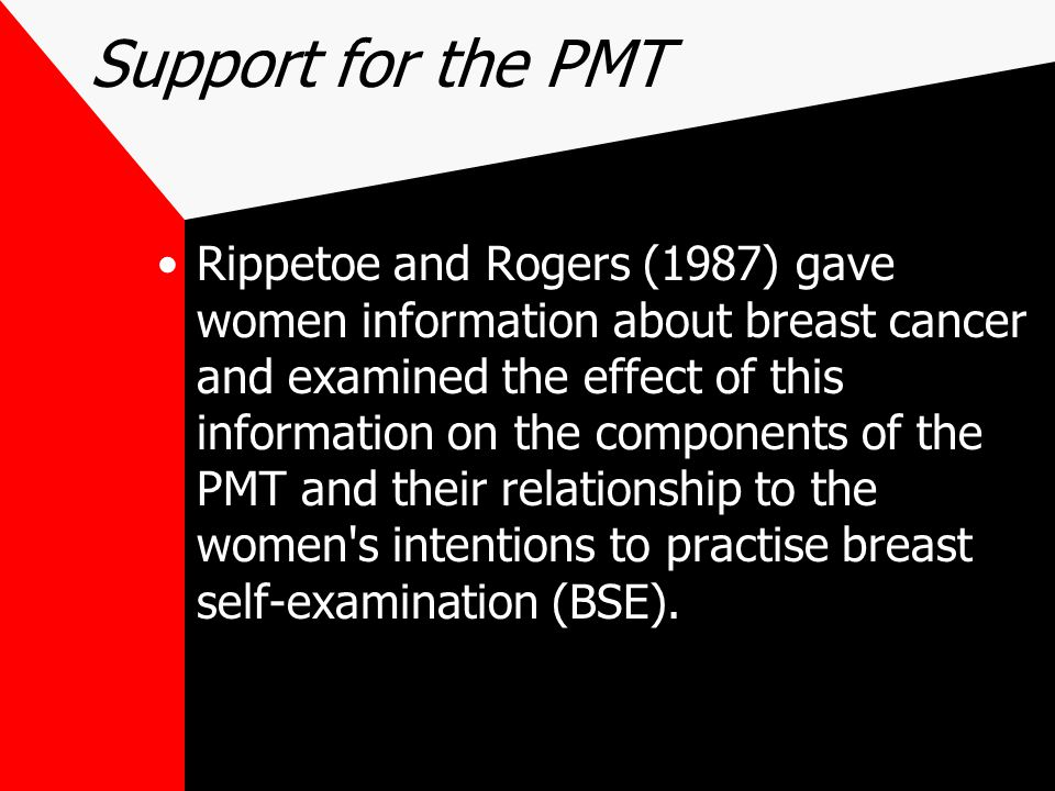 Support for the PMT