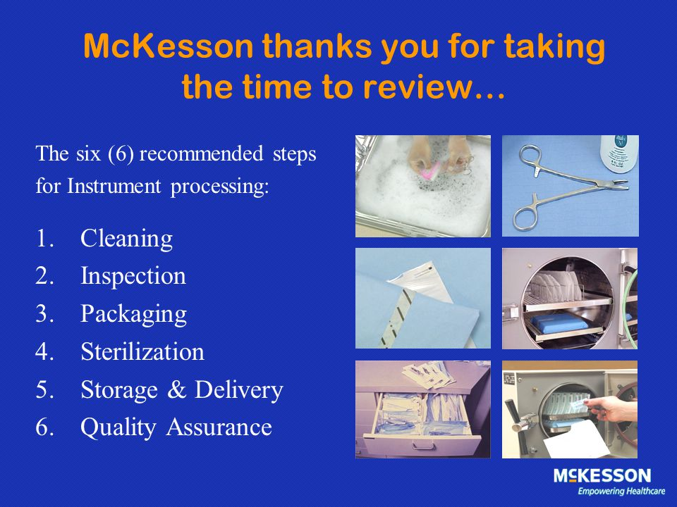McKesson thanks you for taking the time to review…