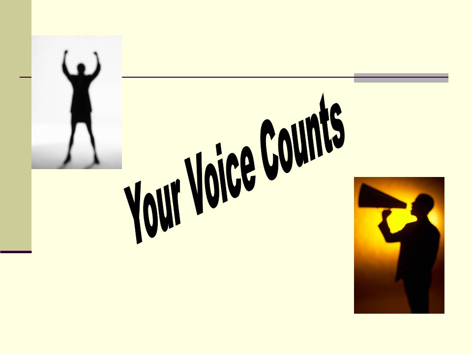 Your Voice Counts