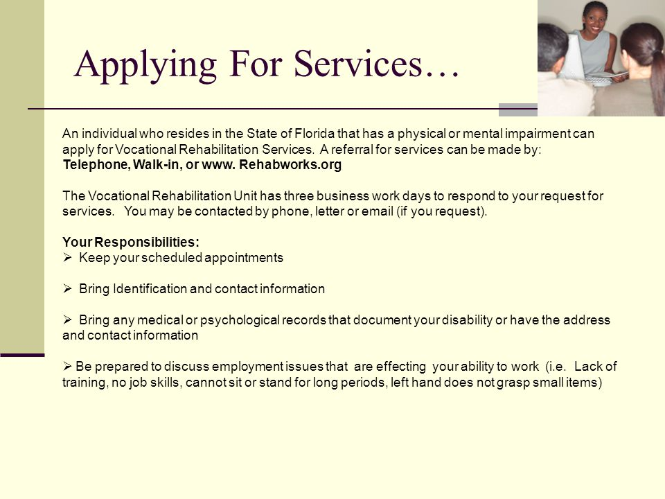 Applying For Services…