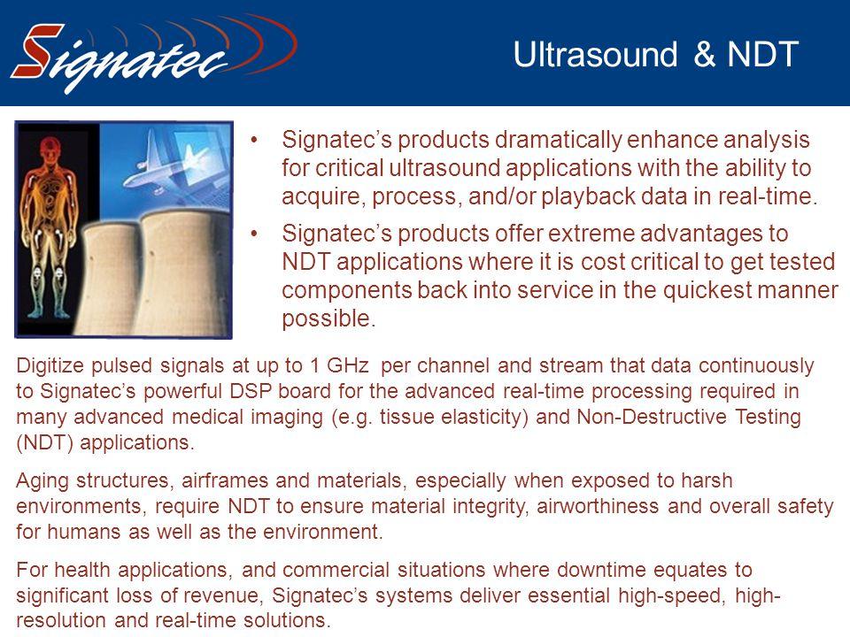 Ultrasound & NDT