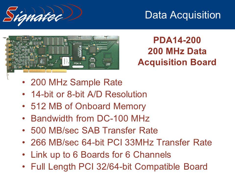 200 MHz Data Acquisition Board