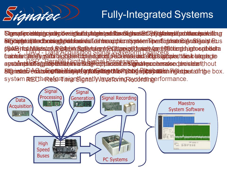 Fully-Integrated Systems