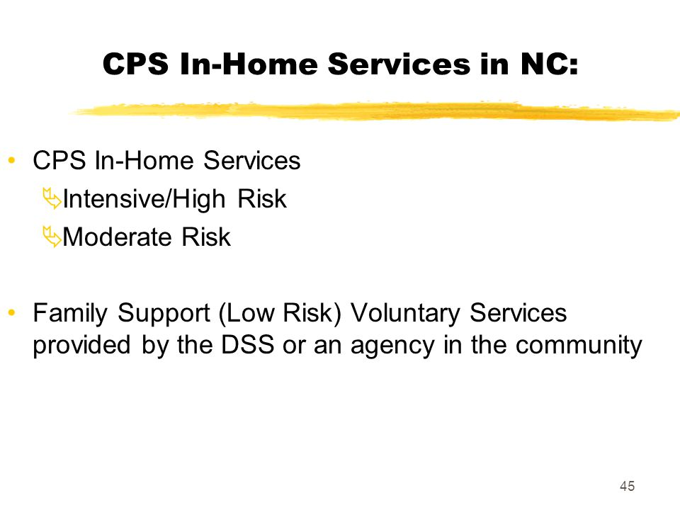 CPS In-Home Services in NC: