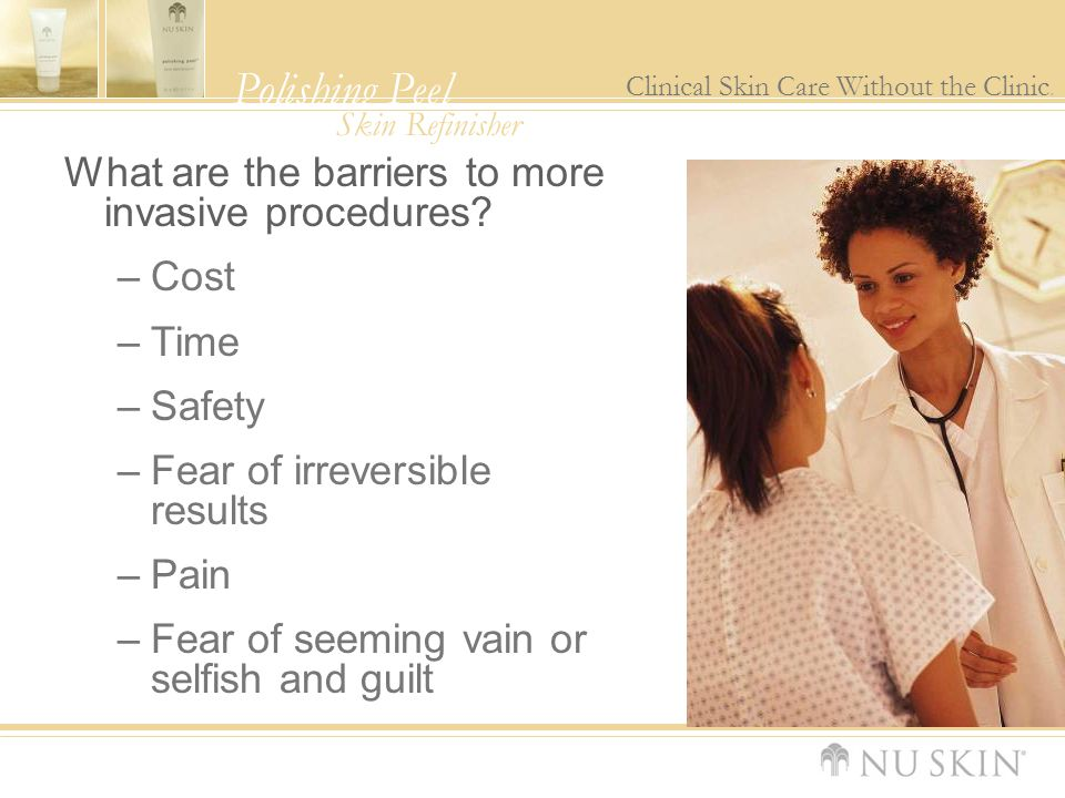What are the barriers to more invasive procedures