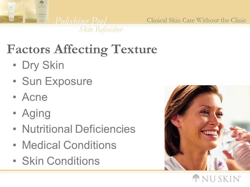 Factors Affecting Texture