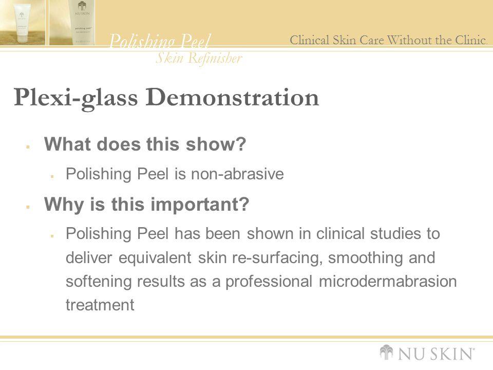 Plexi-glass Demonstration