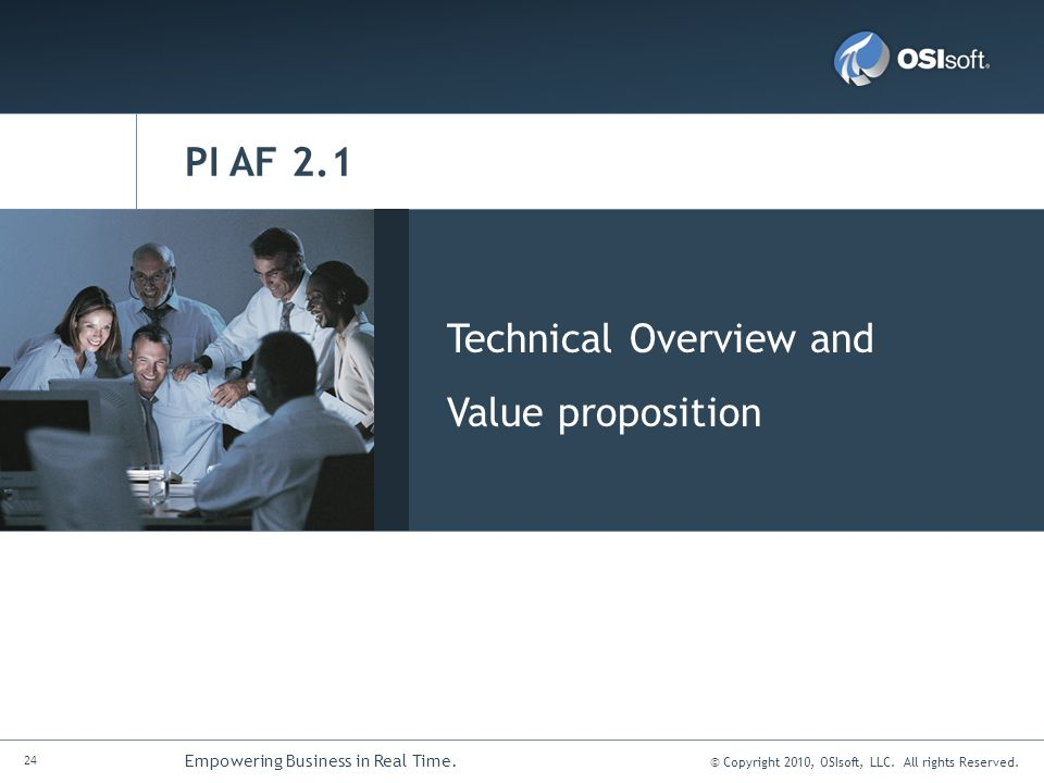PI AF 2.1 Technical Overview and Value proposition