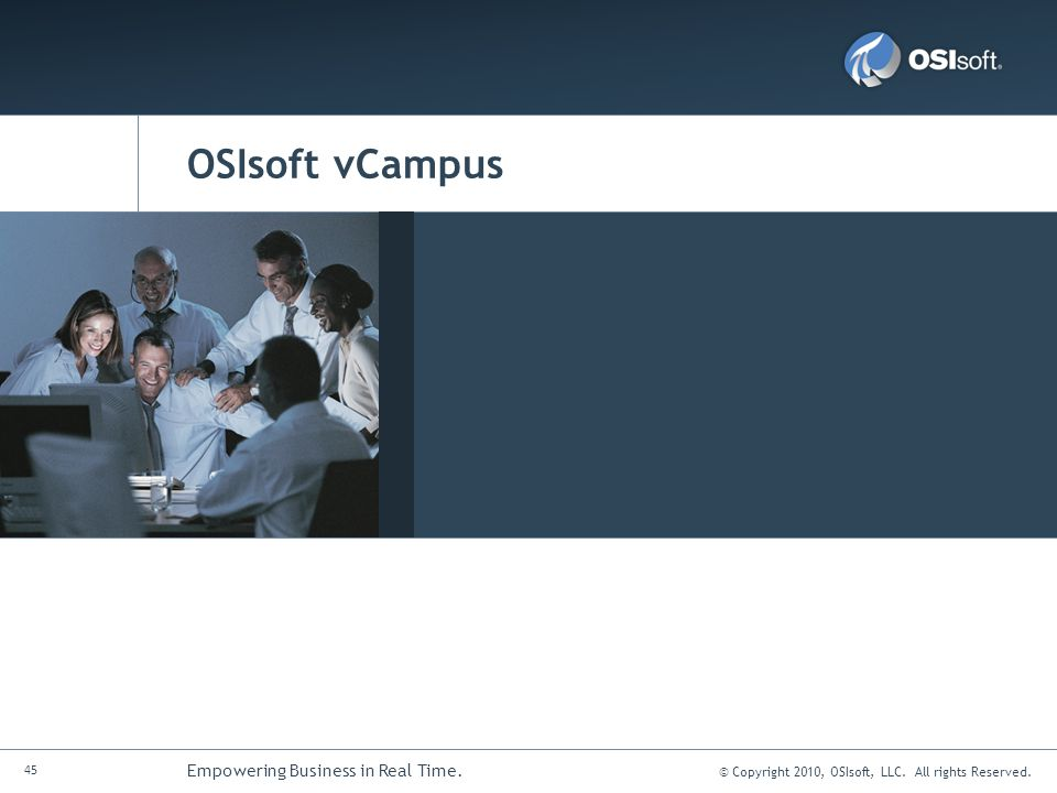 OSIsoft vCampus