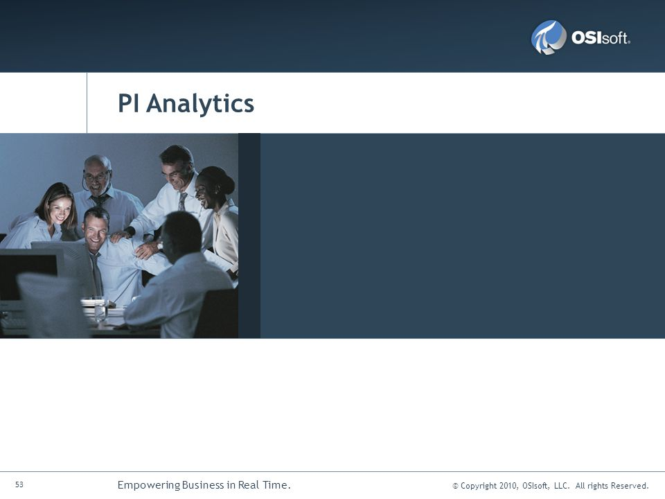 PI Analytics