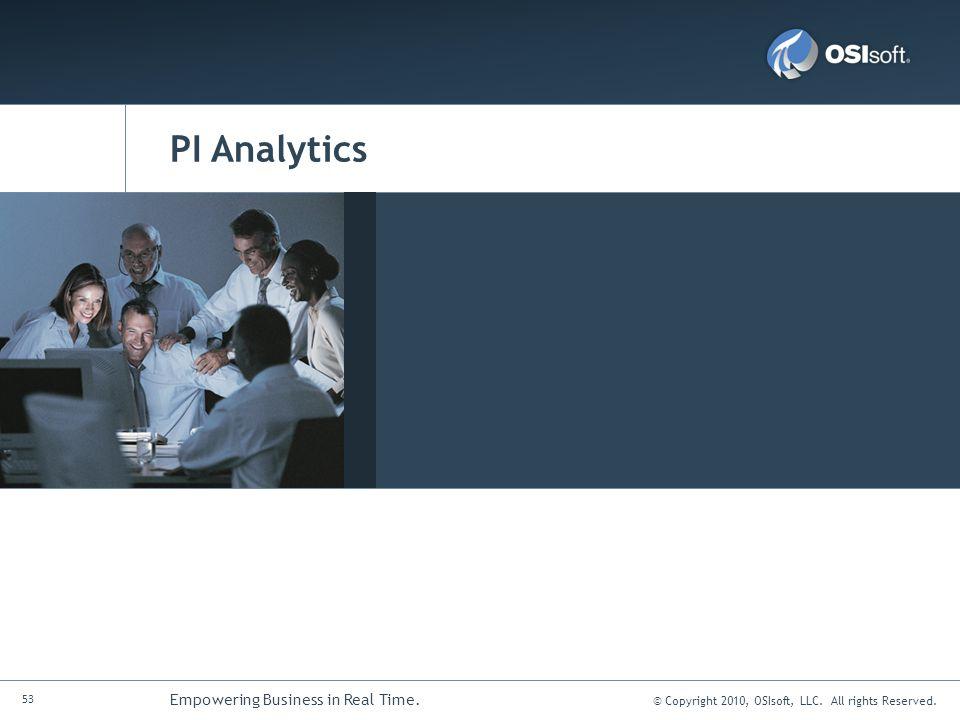 PI Analytics