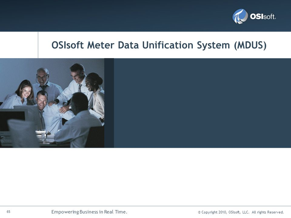OSIsoft Meter Data Unification System (MDUS)