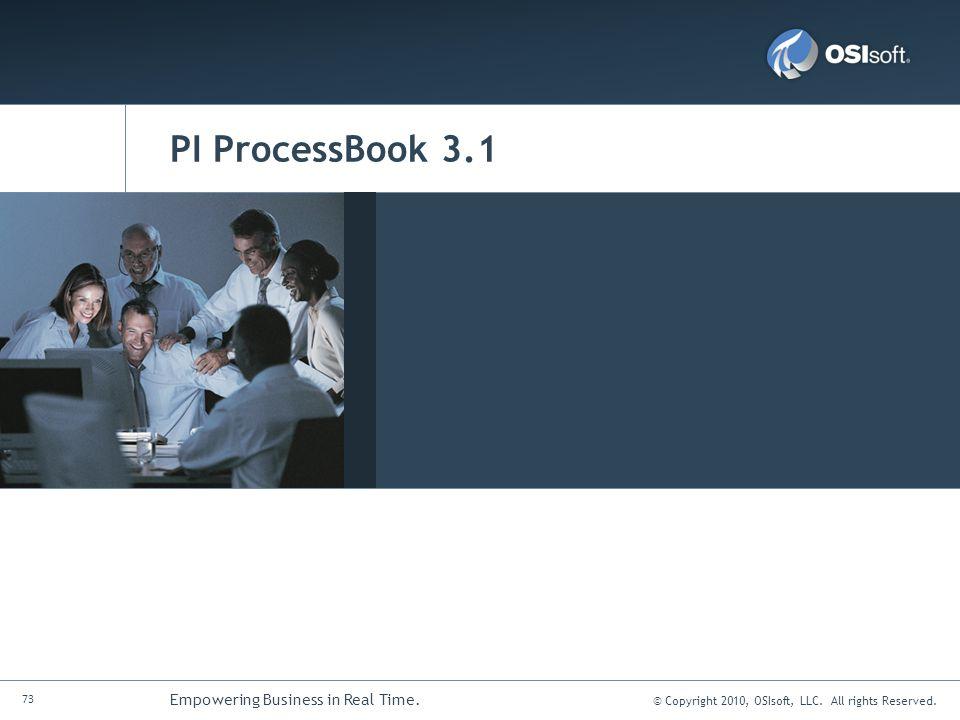 PI ProcessBook 3.1