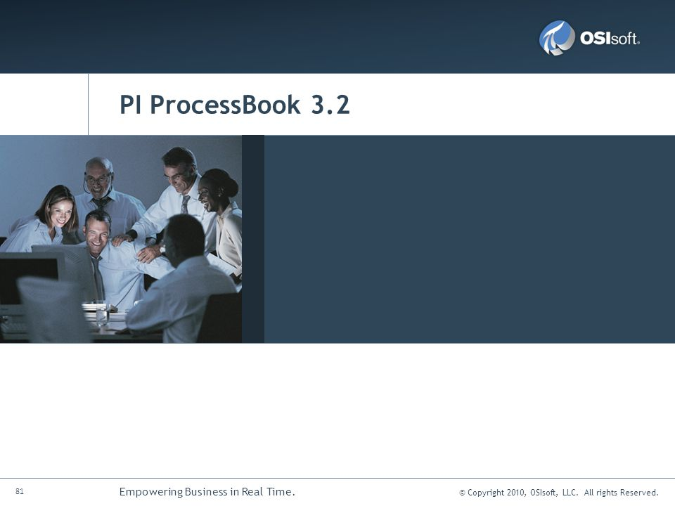 PI ProcessBook 3.2