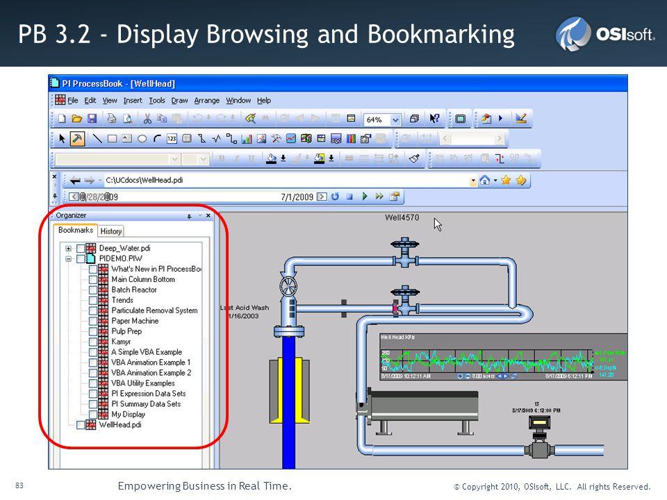 PB 3.2 - Display Browsing and Bookmarking